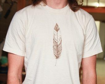 Short Sleeve Feather Tee