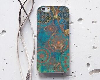 Bohemian Mandala Case iPhone Se Case Samsung Galaxy S6 iPhone 6s Case iPhone 7 Plus Case iPhone 6 Case iPhone 5s Case iPhone 5c Case 097