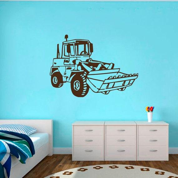 Wall Decal Vinyl Sticker Car Machine Agricultural Machinery