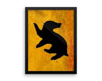 Harry Potter, Hufflepuff 8x10 Art Decor Digital Print