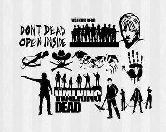 The Walking Dead Related Items Etsy