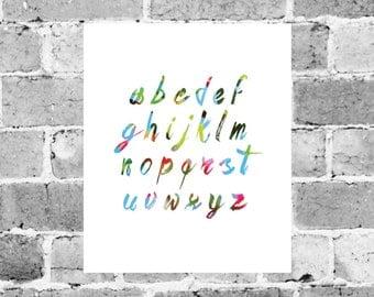 ABC, Typography