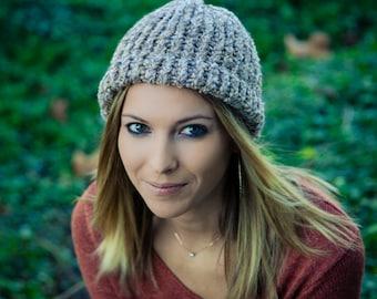 Warm knitted beanie