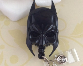 Batman Mask Retractable ID Badge Reel, Nurse Badge Reel