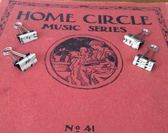 Music binder clips