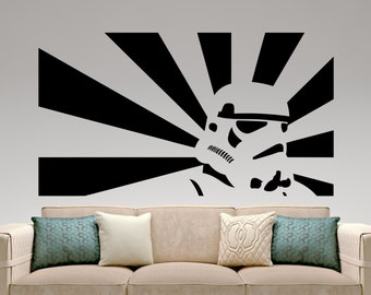 Wonderful Stormtrooper Sticker Star Wars Wall Decal Movie Design Art Decoration Mural Bedroom  Wall Decor Home Interior Good Ideas