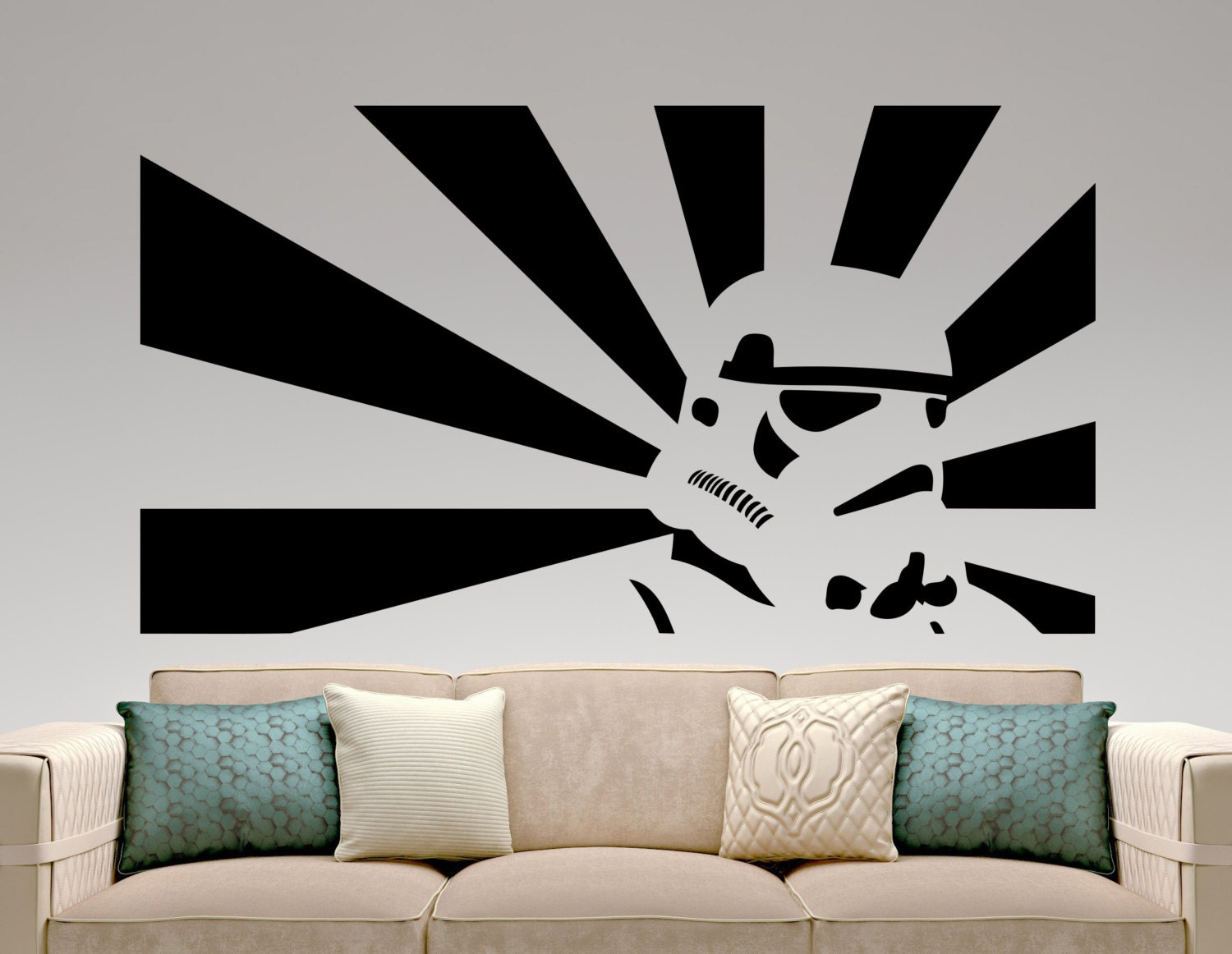 Stormtrooper Sticker Star Wars Wall Decal Movie Design Art