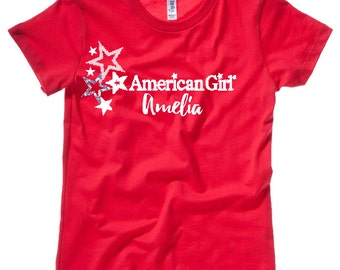 Personalized American Girl T-Shirt