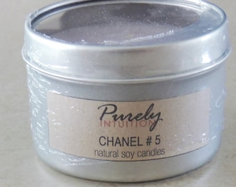 4oz Chanel #5 Soy Candle