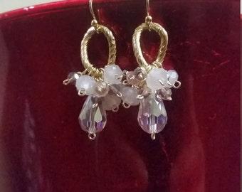 Earrings Pink Gift
