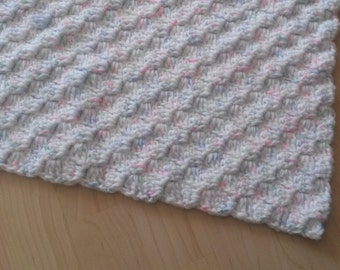 Corner to Corner Multi-Coloured Baby Blanket