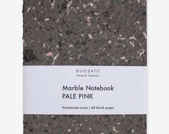 MARBLE Notebook Pale Pink