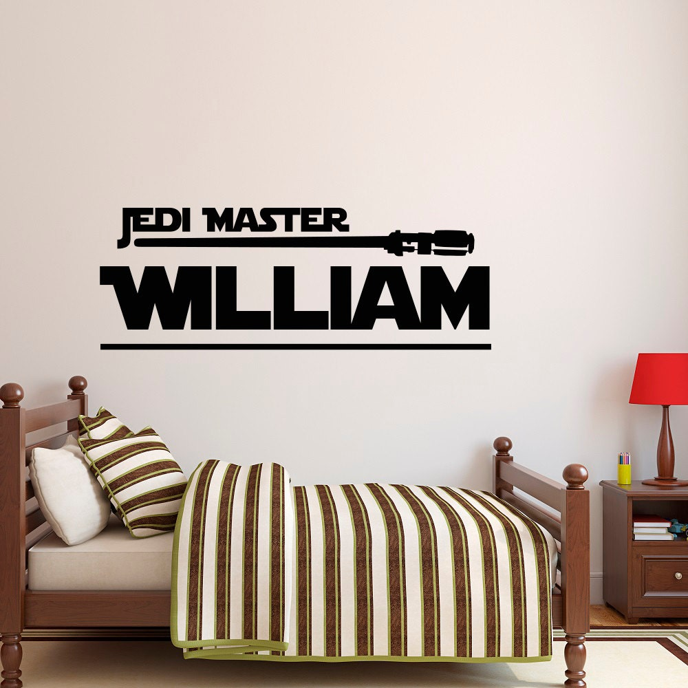 Star wars name decal jedi master wall decal star wars star details star wars name decal jedi master wall amipublicfo Gallery