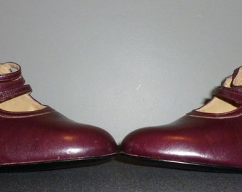 Vintage 1970's Unworn Bally Mary Jane Shoes UK 7.5 - 8 Free UK Shipping