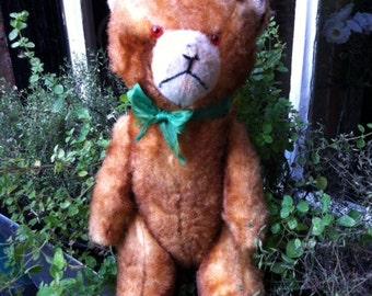 1950s German Wool Teddy Bear