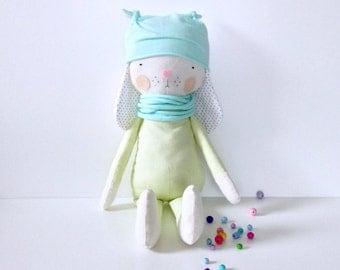 Bunny boy, Fabric Doll 47cm