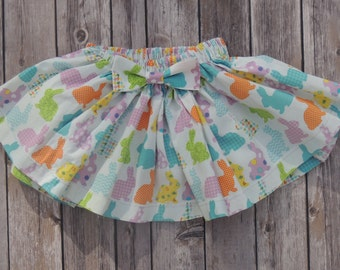 Hoppy Easter Bunny Skirt