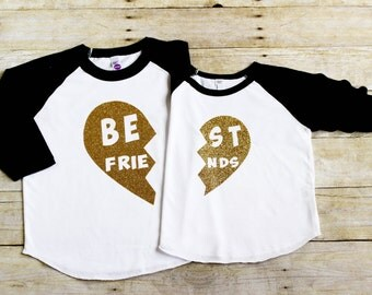 Best Friend Shirts - BFF Shirts - Besties Shirts - Best Friends Forever Shirts - Sisters Shirts - Matching BFF Shirts - Twin Sister Shirts