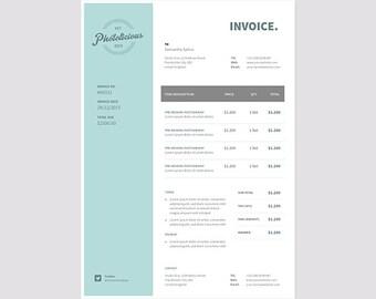 receipt | etsy, Invoice examples