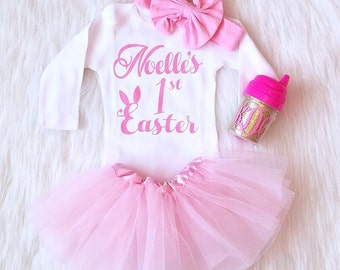 Easter Outfit for Girl, My First Easter, Easter Shirt, Easter Shirt for Girl, Easter Outfit, First Easter Outfit, Easter Onesie First Easter