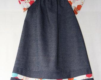 ON SALE!! Girls Peasant DRESS