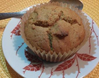 Pumpkin muffins, one dozen (gluten free)