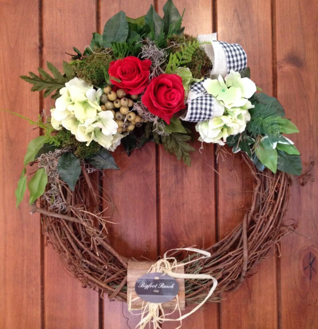 front door wreath outdoor wreath indoor wreath all season wreath spring wreath summer wreath floral wreath large wreath wreath