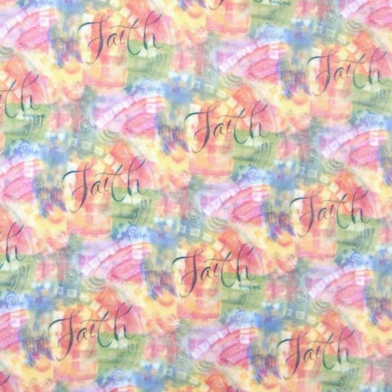 Fleece fabric christian religious by picotextilesdotcom on for Spaceship fleece fabric