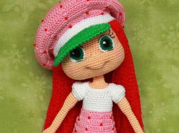 Original Strawberry Shortcake Doll Patterns Patterns Kid