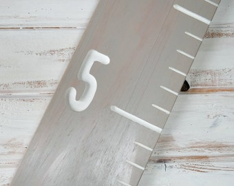 wood ruler growth chart