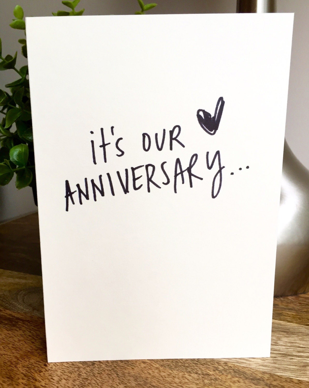 St wedding anniversary cards for husband imgkid