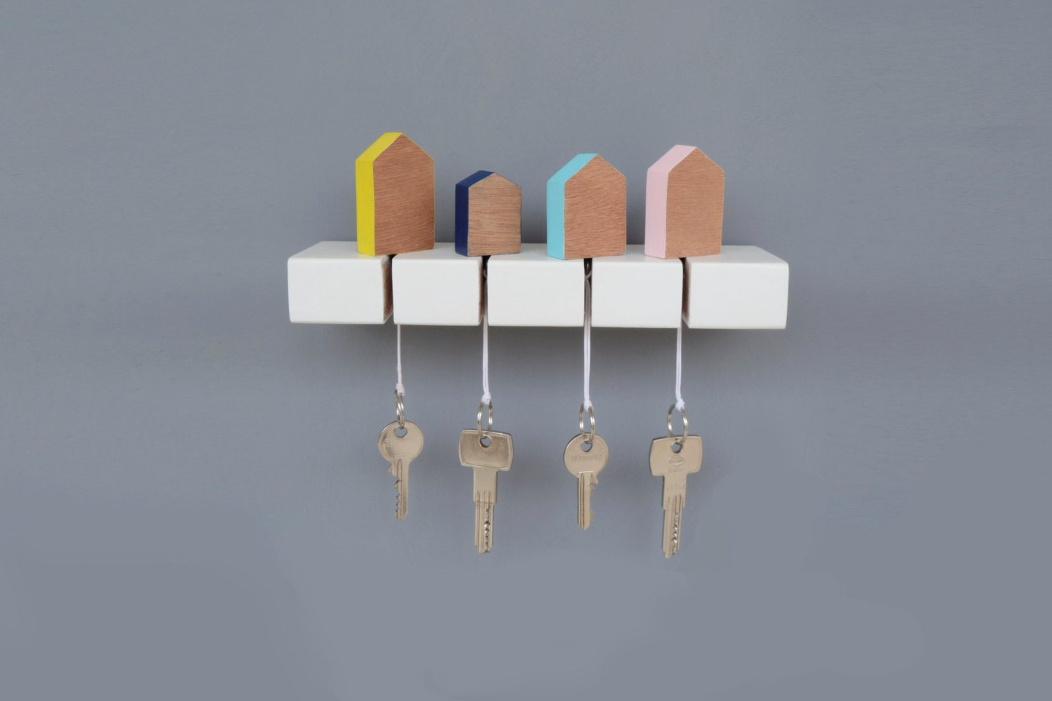 Key Holder Wooden Key Hanger Wall Key Holder Wall Key