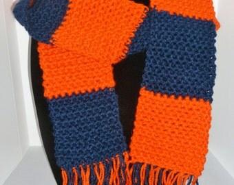 Broncos Blue and Orange scarf