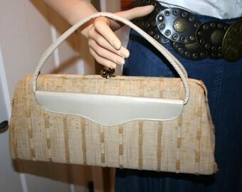Graceline Master Handbag//Cloth Purse//Vintage Graceline Master Handbag