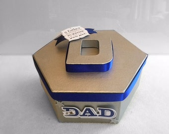 Dad Memory Box, Dad Keepsake Box, Father's Day Present, Gift For New Father, Baby Shower Gift