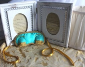 Breakfast at Tiffany's sleep mask, Holly Golightly blindfold, Audrey Hepburn eye mask with eyelashes, Gift idea for her, women's accessory