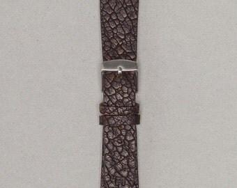 The Arbiter | 20mm Vintage Leather Watch Strap