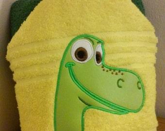 Good Dinosaur Hooded Towel
