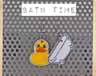 Bath time Earrings