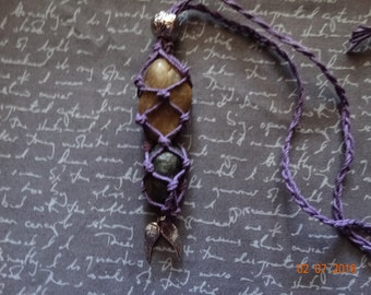 Purple Interchangeable Necklace