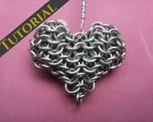 Chain Mail Tutorial- Chain Mail Heart