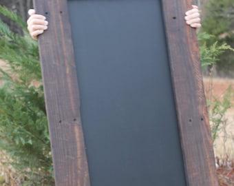 29x17 Reclaimed Wood Chalkboard