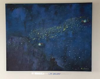 Fireflies dance 1