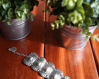 Medallion Bracelet