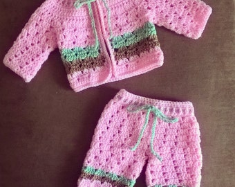 Love a baby sweater set