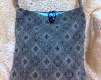 shoulder bag handmade fabric pocketbook cloth pocketbook handmade purse
