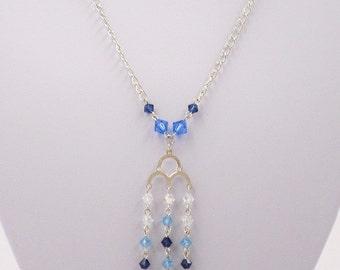 Roma Necklace with Swarovski Crystals