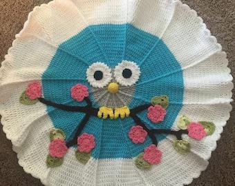 Owl Nursery Rug