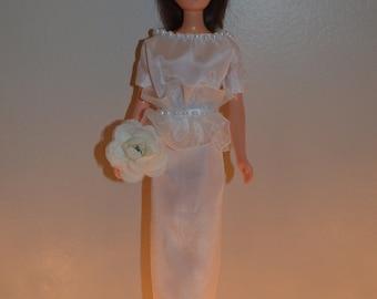 We've Only Just Begun - Handmade OOAK Outfit for Vintage Francie Barbie Doll