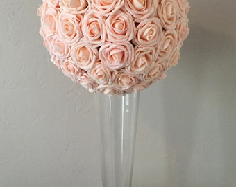 "6"" Blush Pink Kissing Ball Pomander"